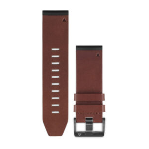 FENIX 5X 26MM QUICKFIT BROWN LEATHER BROWN