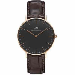 DW00100140 DW CLASSIC YORK ROSE' GOLD 36 MM