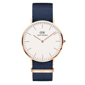 DW00100275 CLASSIC BAYSWATER ROSE GOLD 40MM