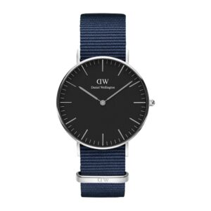 DW00100282 CLASSIC BAYSWATER SILVER 36 MM