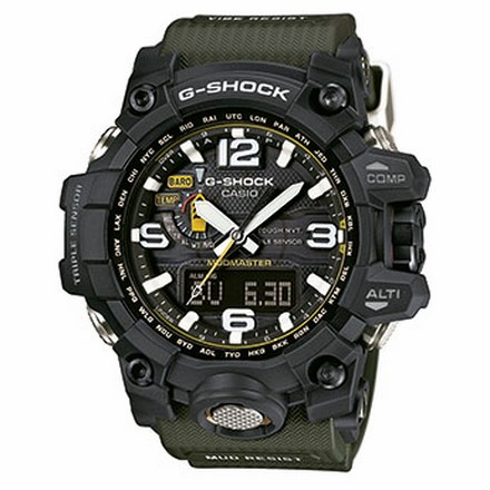 GWG-1000-1A3ER G-SHOCK MUD RESIST TRIPLE SENSOR