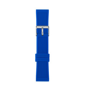 IAM-306-500 I AM GENT BLUE SILICON STRAP SS