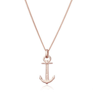PH-AN-R ANCHOR SPIRIT NECKLESS ROSE GOLD