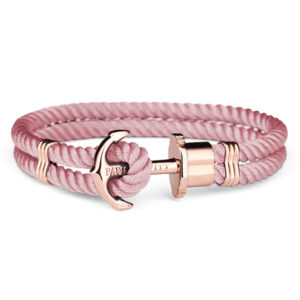 PH-PH-N-R-A-L ANCHOR IP ROSE GOLD NYLON MIS L