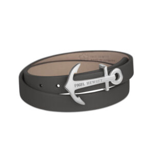 PH-WB-S-13S WRAP BRACELET NORTH BOUND STEEL GREY