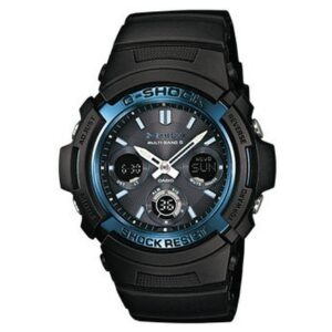 AWG-M100A-1AER G-SHOCK NERO MULTIBAND 6
