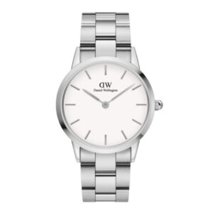 DW00100203 LINK WATCH SILVER 36MM