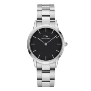 DW00100206 LINK WATCH SILVER 32MM