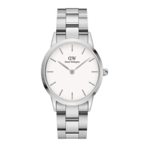 DW00100207 LINK WATCH SILVER 28MM