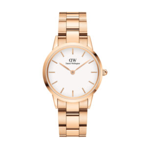 DW00100211 LINK WATCH ROSE GOLD 32MM