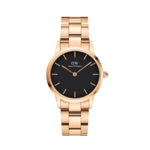 DW00100214 LINK WATCH ROSE GOLD 28MM
