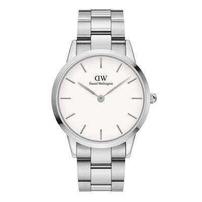 DW00100341 ICONIC LINK 40MM SILVER
