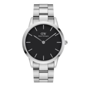 DW00100342 ICONIC LINK 40MM SILVER