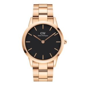 DW00100344 ICONIC LINK 40MM ROSE GOLD