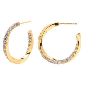 AR01-239-U PDP CAVALIER EARRINGS GOLD