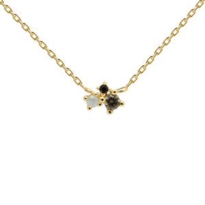 CO01-177-U ATELIER LIME BLUCH GOLD NECKLACE