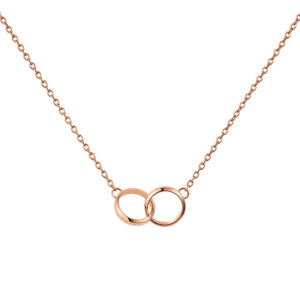 DW00400166 ELAN UNITY NECKLACE ROSE GOLD