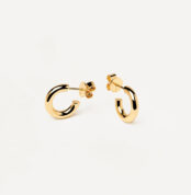 AR01-376-U PDP ESSENTIAL EARRINGS MINI CLOUD GOLD
