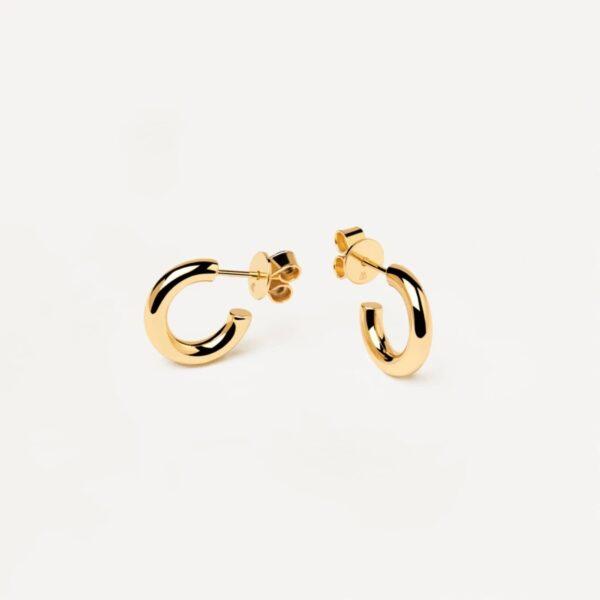 AR01-376-U PDP ESSENTIAL EARRINGS MINI CLOUD GOLD