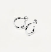 AR02-377-U PDP ESSENTIAL EARRINGS MEDIUM CLOUD